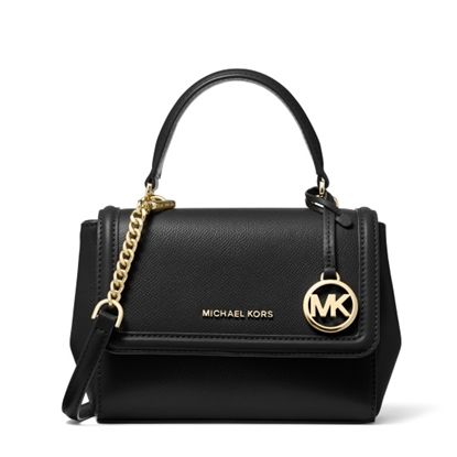 Picture of Michael Kors Jet Set XS Flap Crossbody - Black