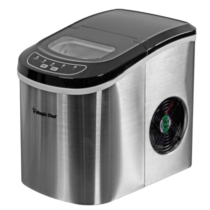 Picture of Magic Chef 27lb. Portable Ice Maker - Stainless