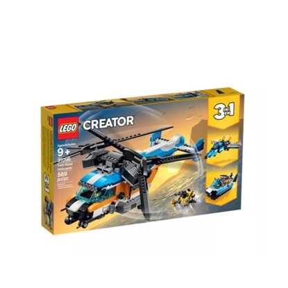 Picture of LEGO® Creator 3:1 Twin-Rotor Helicopter Police