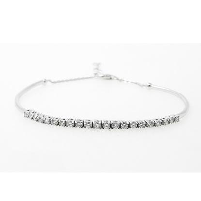Picture of Lali 14K White Gold Diamond Bracelet