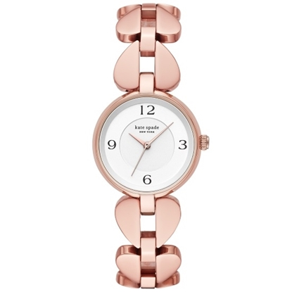 Picture of Kate Spade Annadale Rose Gold-Tone Spade Strap Watch