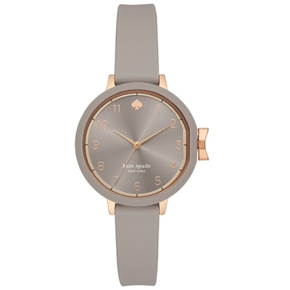 Picture of Kate Spade Park Row Watch with Grey Silicone Strap