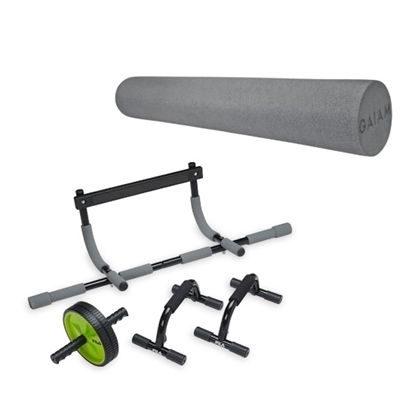 Picture of Gaiam® Home Gym Kit with Foam Roller Bundle