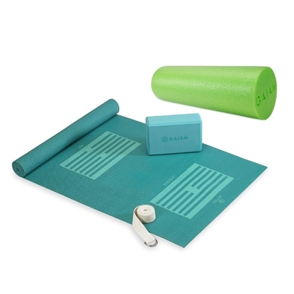 Picture of Gaiam® Yoga Kit with Foam Roller Bundle