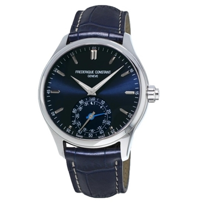 Picture of Frederique Constant Horological Smartwatch w/Blue Dial & Strap