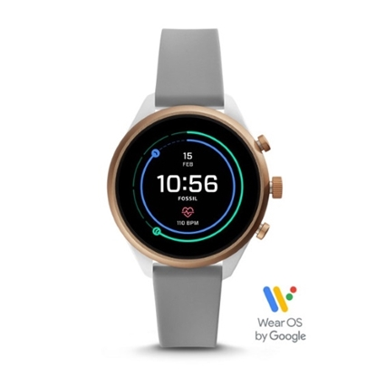 Picture of Fossil Sport Grey Silicone Touschscreen Smartwatch