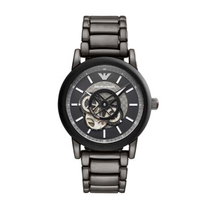 Picture of Emporio Armani Luigi Smoke/Black Stainless Steel Watch