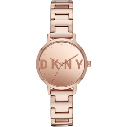 Picture of DKNY Modernist Rose Gold-Tone Stainless Steel Watch