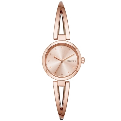 Picture of DKNY Crosswalk Rose Gold-Tone Stainless Steel Watch