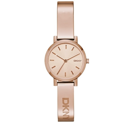 Picture of DKNY Soho Rose Gold-Tone Stainless Steel Watch