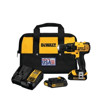 Picture of DeWalt® 20V MAX Lithium-Ion Compact Drill/Driver Kit
