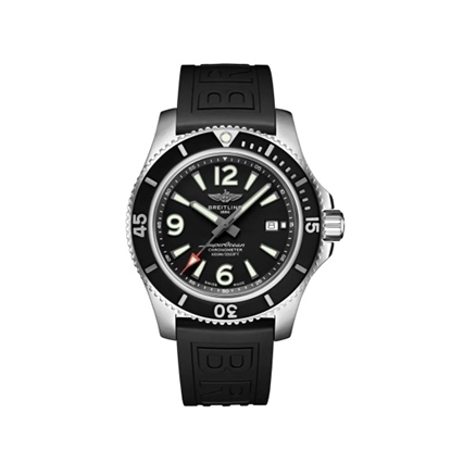 Picture of Breitling Superocean Auto 44 with Black Diver Pro III Strap