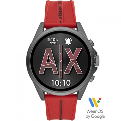 Picture of Armani Exchange Drexler Red Silicone Smartwatch