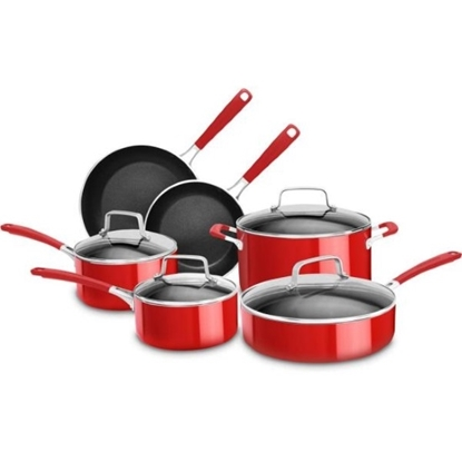 Picture of KitchenAid® Aluminum Nonstick 10-Piece Set
