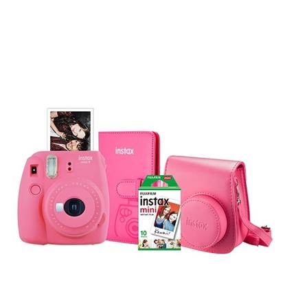 Picture of Fuji Instax Mini 9 with Case, Album & Film