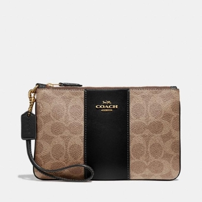 Picture of Coach Colorblock Signature Small Wristlet