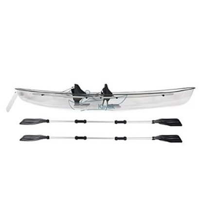 Picture of Crystal Kayak Transparent Lexan Clear Canoe/Kayak
