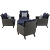 Picture of Hanover Savannah 5-Piece Chat Set