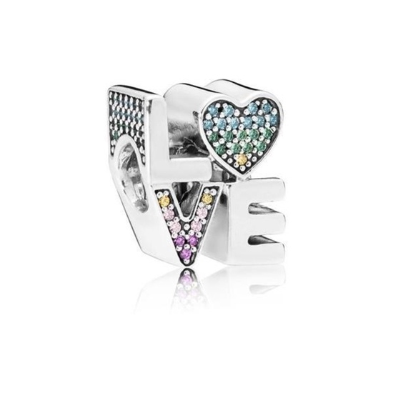 Picture of Pandora® Multi-Color Love Charm