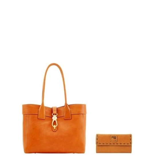 Picture of Dooney & Bourke™ Florentine Amelie Shoulder Bag and Continental Clutch Set
