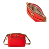 Picture of Dooney & Bourke™ Wayfarer Domed Crossbody - Red