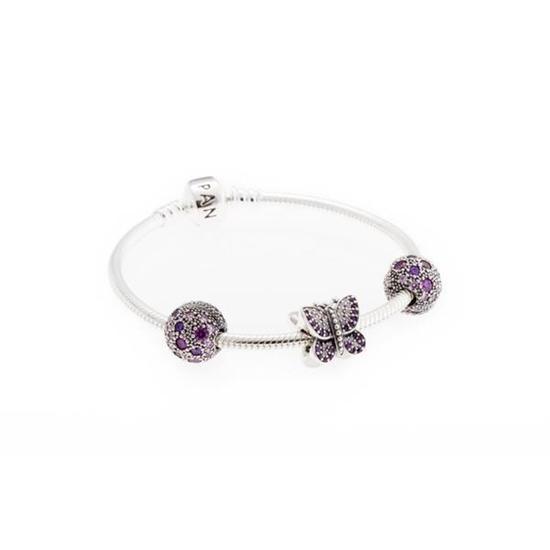 Picture of Pandora® Fluttering Butterfly Bracelet