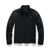 Picture of The North Face® Men's TKA Glacier Quarter-Zip Pullover - TNF Black