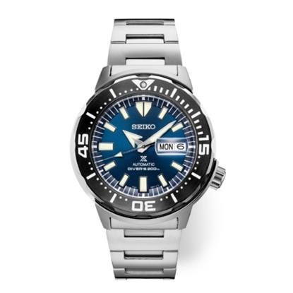Picture of Seiko Prospex Monster Automatic Watch with Blue Dial