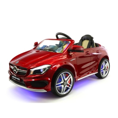 Picture of Moderno Kids CLA45 Ride-On Car with Parental Remote - Cherry