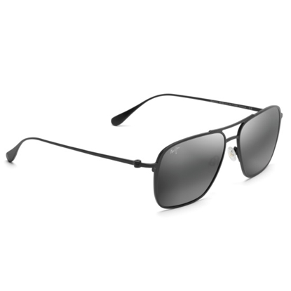 Picture of Maui Jim Beaches Polarized - Black Matte/Neutral Gray Lens