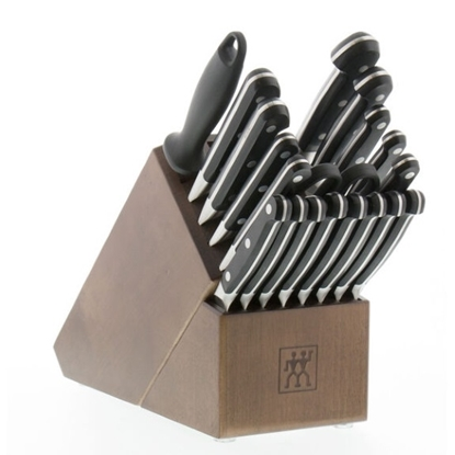 Picture of Zwilling Pro 20-Piece Knife Block Set - Acacia