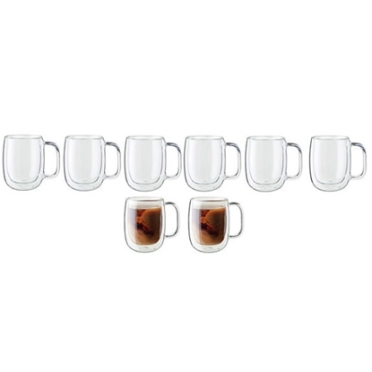 Picture of Zwilling Sorrento 8-Piece Glass Coffee Mug Set
