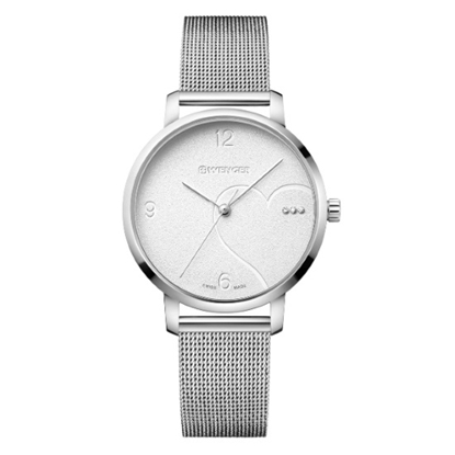 Picture of Wenger Metropolitan Donnissima Stainless Steel Mesh Watch