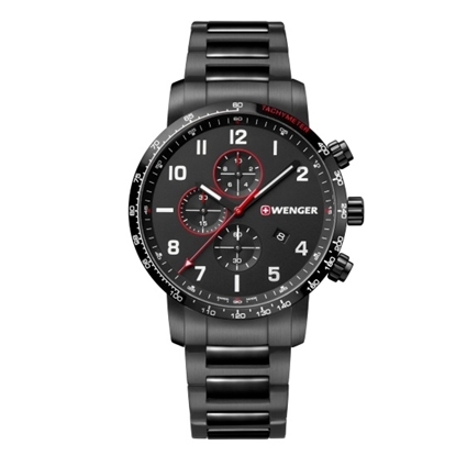 Picture of Wenger Attitude Chronograph Black-Tone Watch