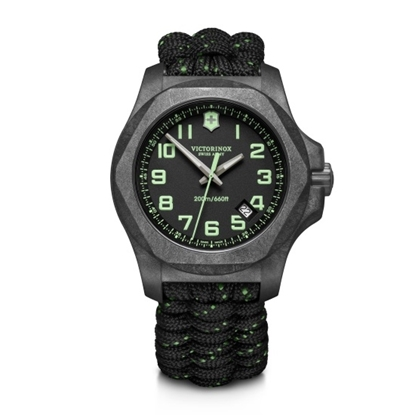 Picture of Victorinox INOX Watch with Carbon Black Dial & Paracord Strap