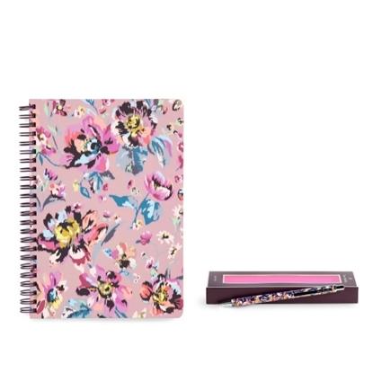 Picture of Vera Bradley Mini Notebook & Ballpoint Pen - Indiana Rose