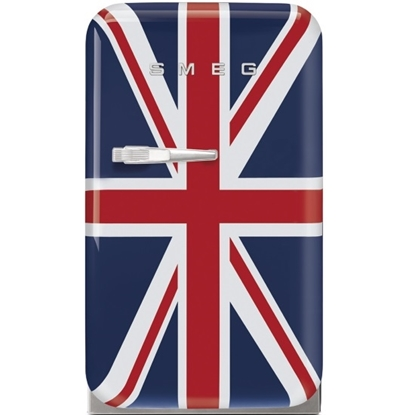 Picture of SMEG 1.5 cu.ft. Retro Mini Fridge - Union Jack