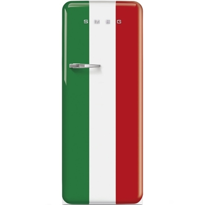 Picture of SMEG 9.22 cu.ft. Retro Fridge - Italian Flag