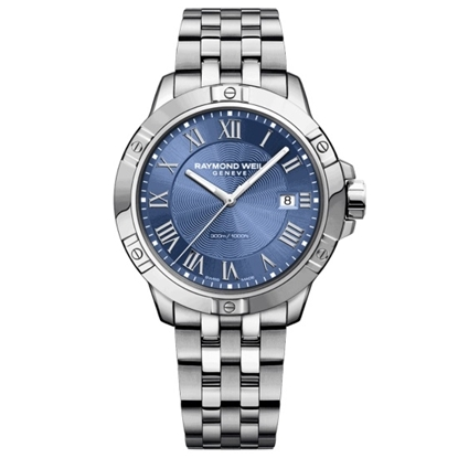 Picture of Raymond Weil Men's Tango Stainless Steel Watch with Blue Dial