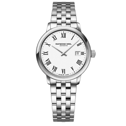 Picture of Raymond Weil Toccata Stainless Steel Watch with White Dial
