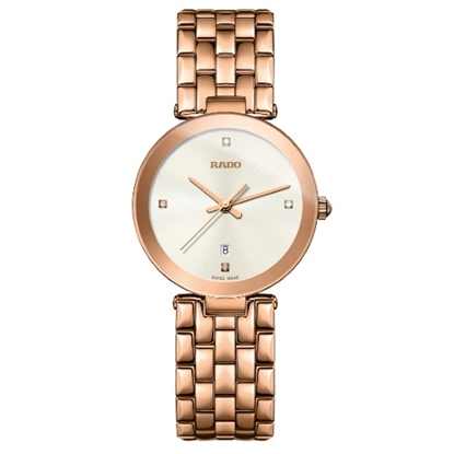 Picture of Rado Florence Diamonds Rose Gold-Tone Watch