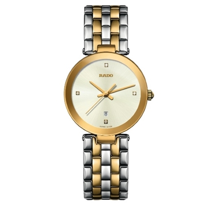 Picture of Rado Florence Diamonds Two-Tone PVD Watch
