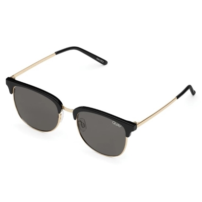 Picture of Quay Evasive Sunglasses - Black/Smoke