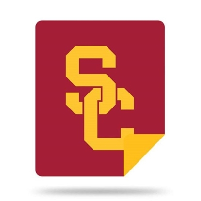 Picture of NCAA Sliver Knit Throw Blanket - USC
