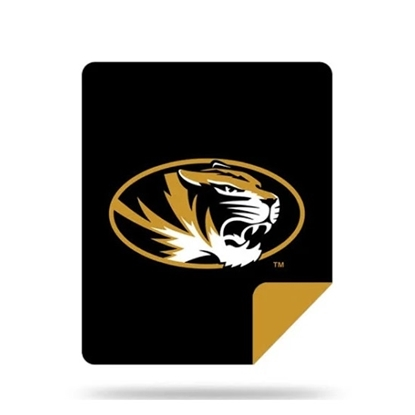Picture of NCAA Sliver Knit Throw Blanket - Missouri