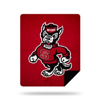 Picture of NCAA Sliver Knit Throw Blanket - NC State