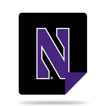Picture of NCAA Sliver Knit Throw Blanket - Northwestern