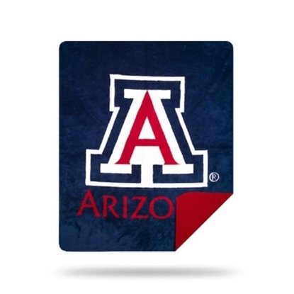 Picture of NCAA Sliver Knit Throw Blanket - Arizona