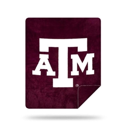 Picture of NCAA Sliver Knit Throw Blanket - Texas A&M