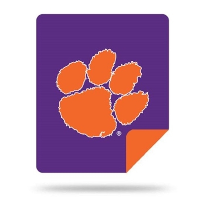 Picture of NCAA Sliver Knit Throw Blanket - Clemson